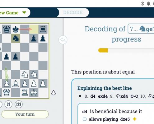 Best chess analysis on your smartphone - DecodeChess