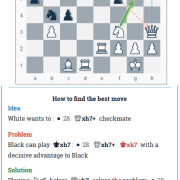 Move 28.Ng5 from Ding-Duda, 2018 Batumi Chess Olympiad